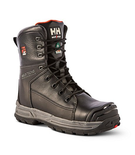 Men's Work Wear 8 In Composite Toe Composite Plate Work Boots
