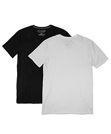 b46fed118496b1 Denver Hayes Men s Special Value 2-Pack Stretch V-Neck T-Shirt ...