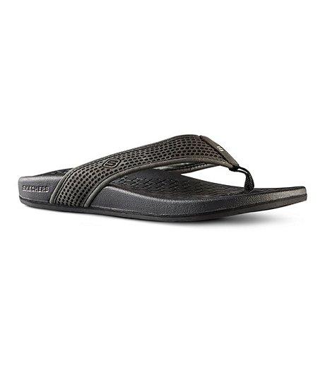 d2997a3ddff7 Skechers Men s Pelem Emiro Flip-Flops