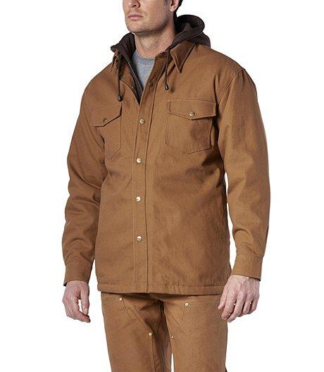 855f05d085f5 Dakota Men s Sherpa Lined Hooded Duck Work Shirt ...
