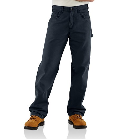 Men's Flame Resistant Loose Fit Midweight Canvas Jeans