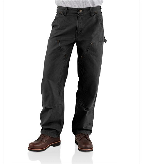 f88c8213e1 Carhartt Men's Double Front Washed Duck Work Dungaree