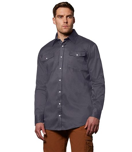 Men's Snap Work Shirt