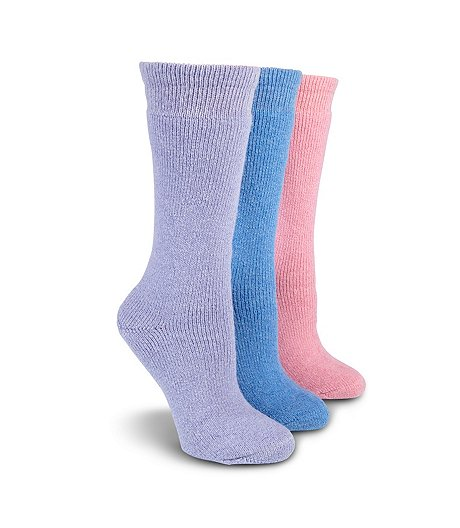 Women's 3-Pack Below Zero Socks
