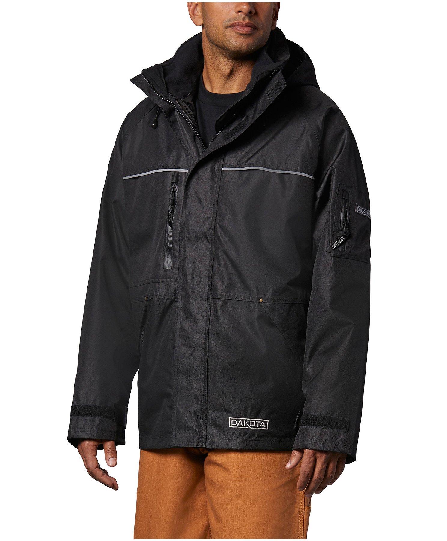 Men's HD3 Waterproof Breathable 3 In 1 Work Coat