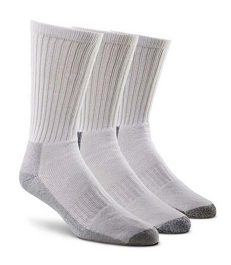 Men's Performance 3-Pack Soil Buster Crew Socks