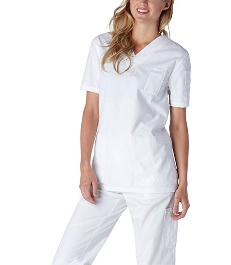 9884290e9d18 HEALTH PRO Essential V-Neck Scrub Top