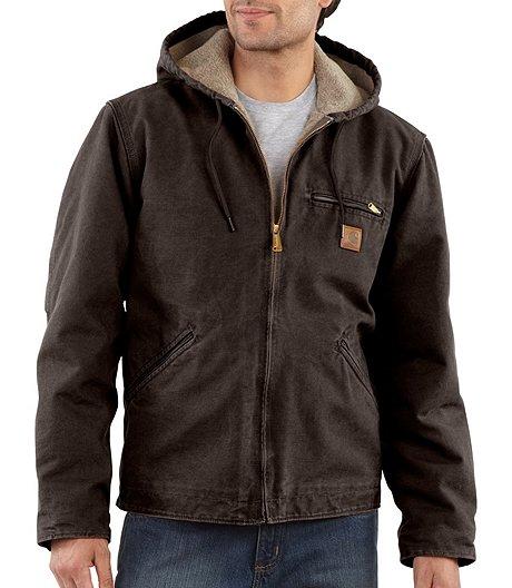 5f3db982c4 Carhartt Men's Sherpa-Lined Sierra Jacket