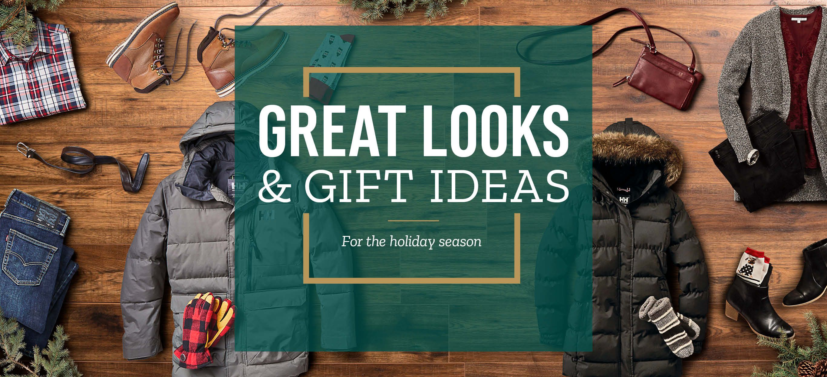 Great Looks and Gift Ideas