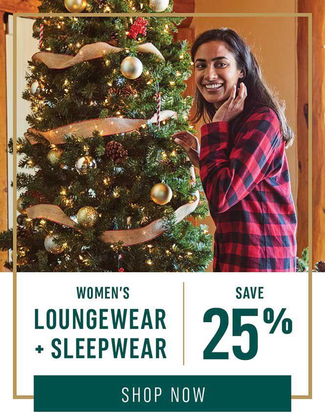 Women's Loungewear + Sleepwear: Save 25%