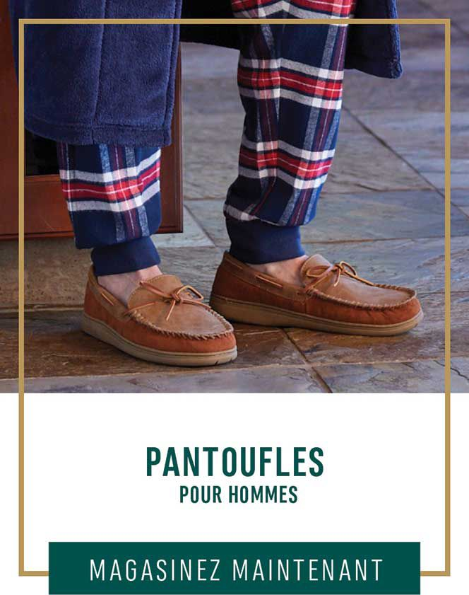 Pantoufles pour hommes