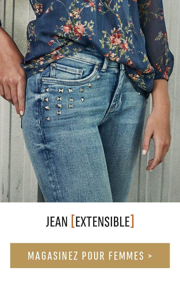 Jean extensible - MAGASINEZ POUR FEMMES