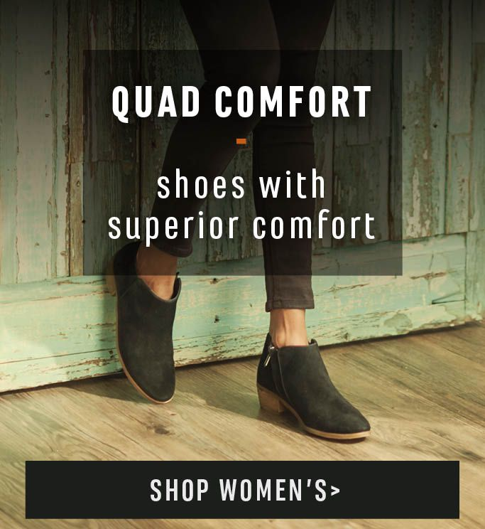 Quad Comfort - Shoes With Superior Comfort - Shop Women's