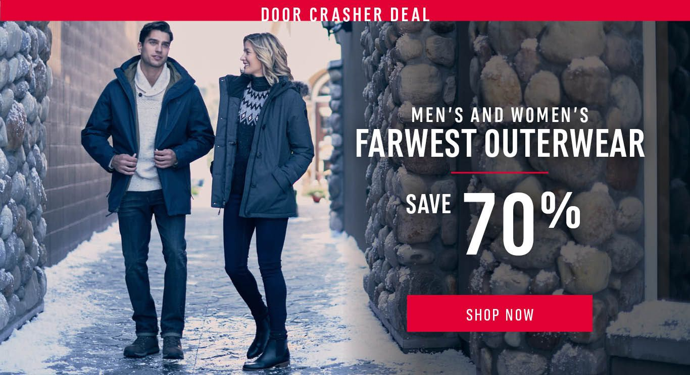 All Men's and Women's FarWest Outerwear Up To 70% Off - SHOP NOW