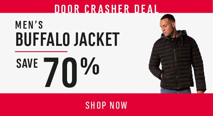 Men's Buffalo Jacket Up To 70% Off - SHOP NOW