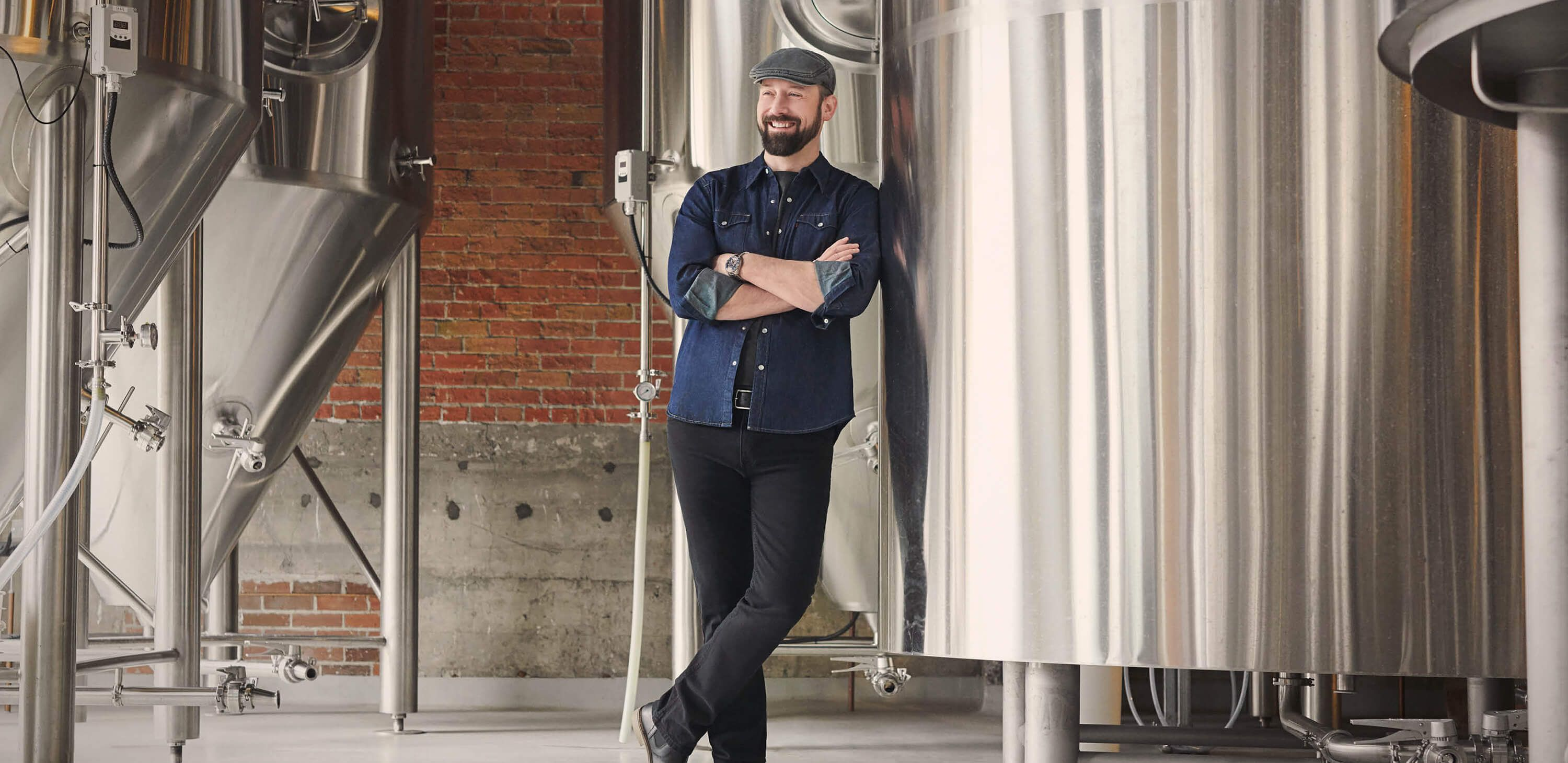 Chris Nowlan is the co-founder of InnerCity Brewing in Calgary, Alberta.