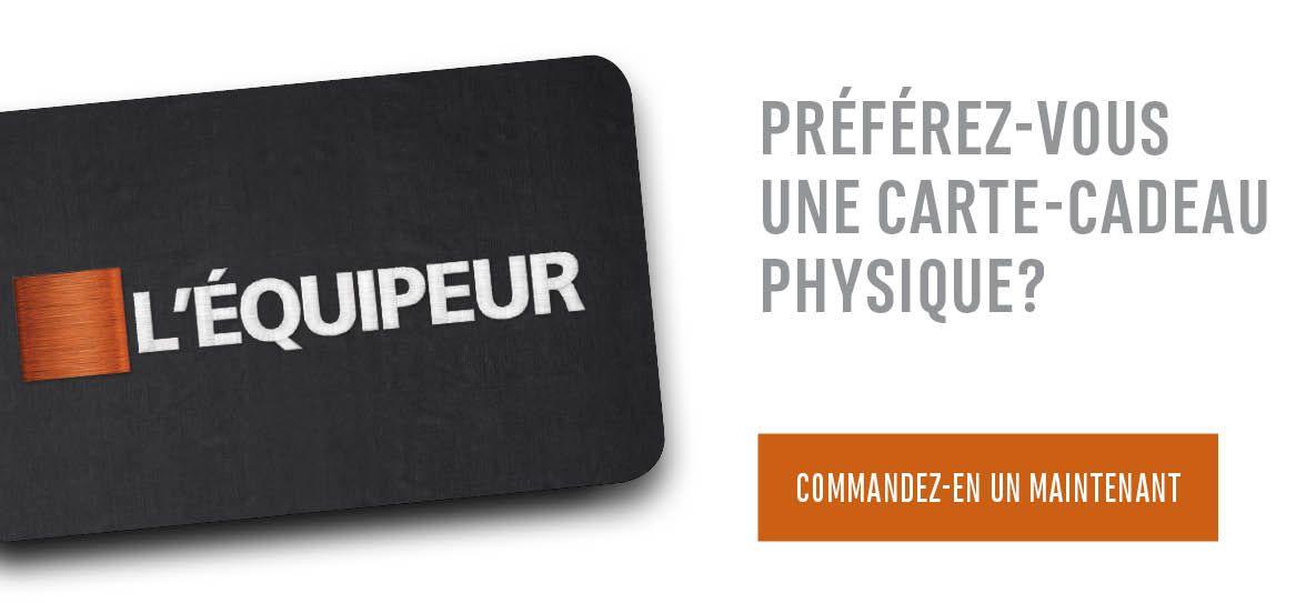 Préférez-vous une carte-cadeau physique?