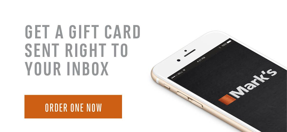 Get a gift card sent right to your inbox - Click to order one now