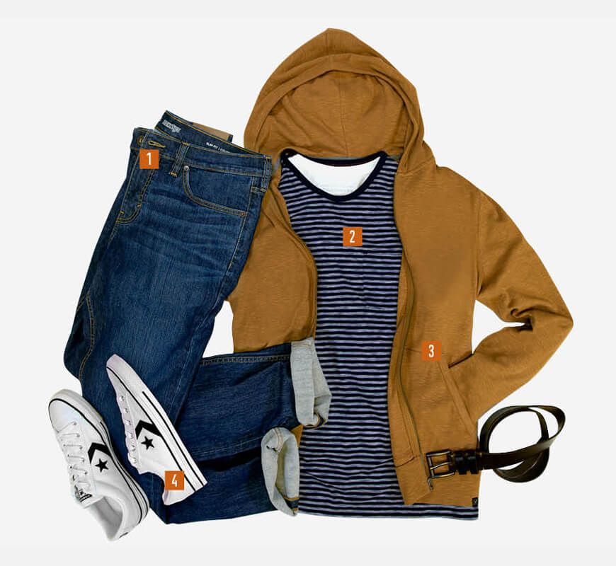 Jeans - Style It - 1. Jeans, 2. T-Shirts, 3. Hoodies, 4. Sneakers