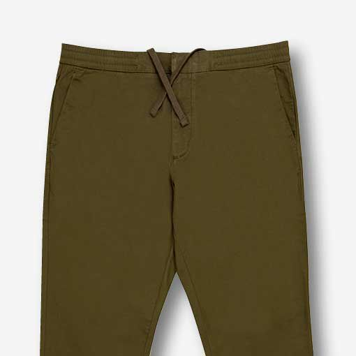 Pantalon à devant plat pour hommes