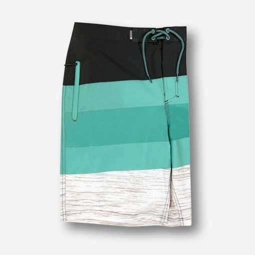 Men's Striped Boardshorts
