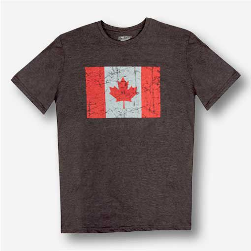 Men's Jumpstart Canada Flag Graphic T-Shirt
