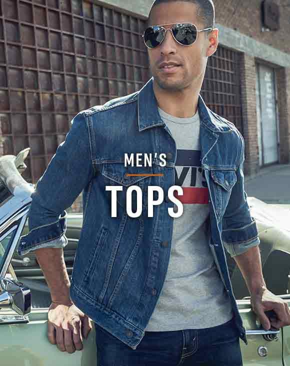Shop Men's Levi's Tops