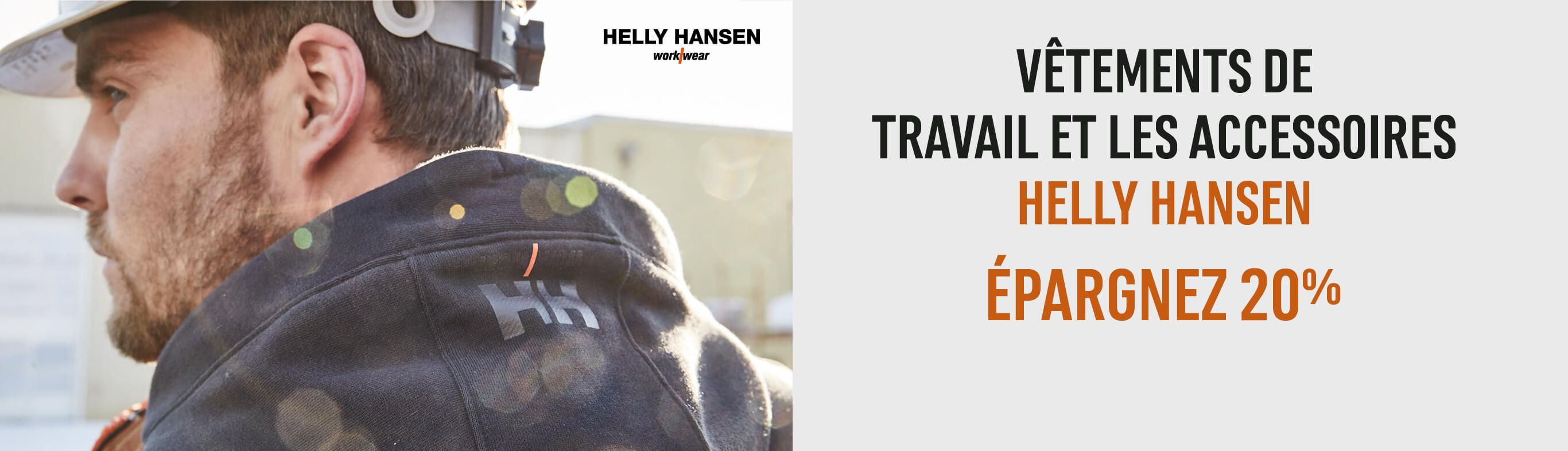 Vêtements de travail et accessoires Helly Hansen: Épargnez 20 %