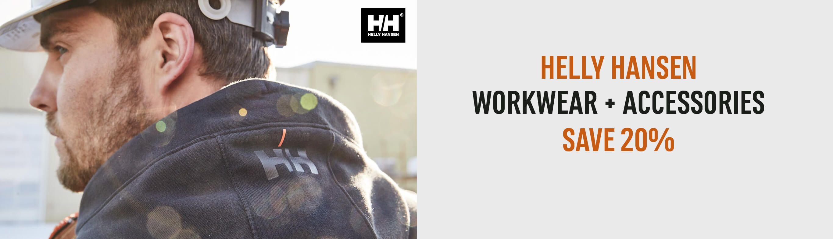 Helly Hansen Workwear and Accessories - Save 20%