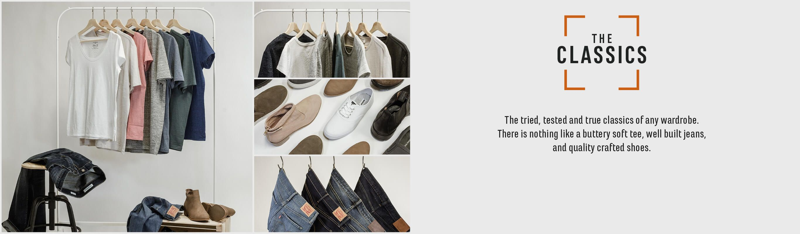 The Classics. The tried tested and true classics of any wardrobe.