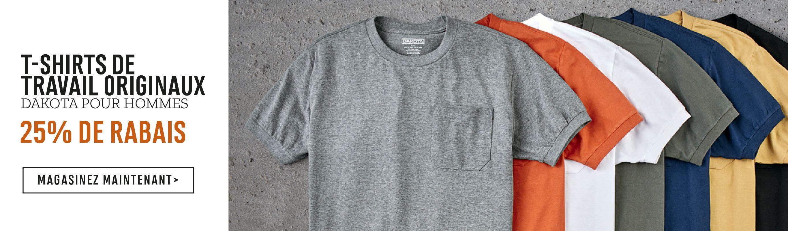 T-Shirts de travail originaux