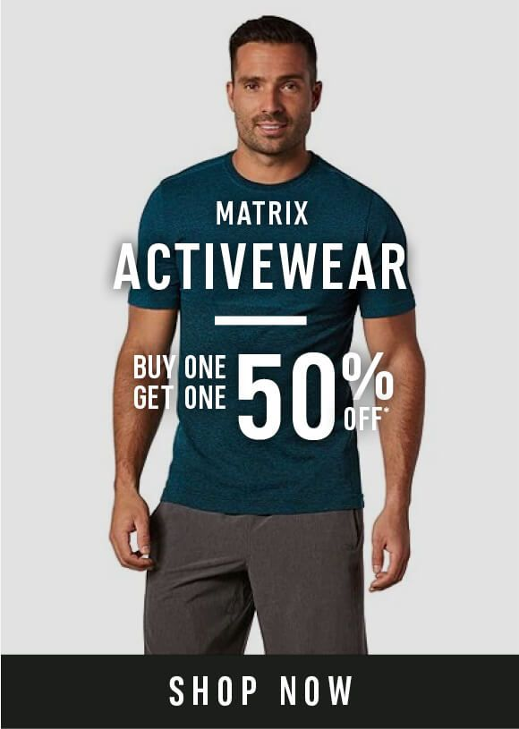Matrix activewear - Buy one get one 50% off