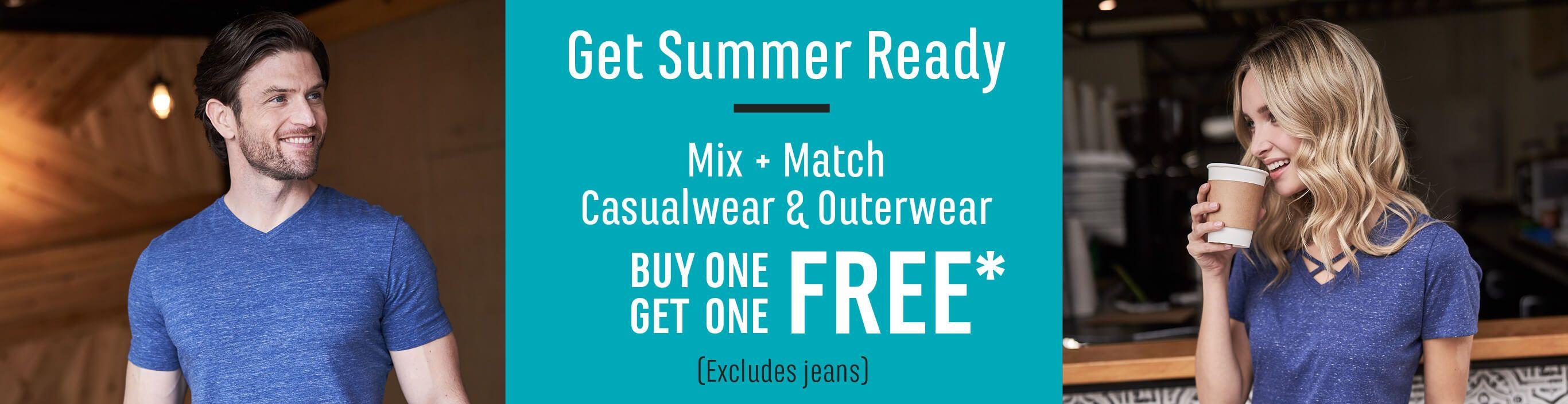 Casual Footwear Buy One Get One 50% Off*