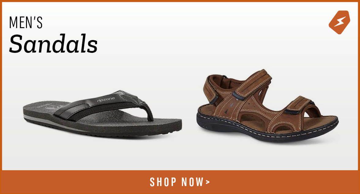 Men's Sandals. Shop Now.