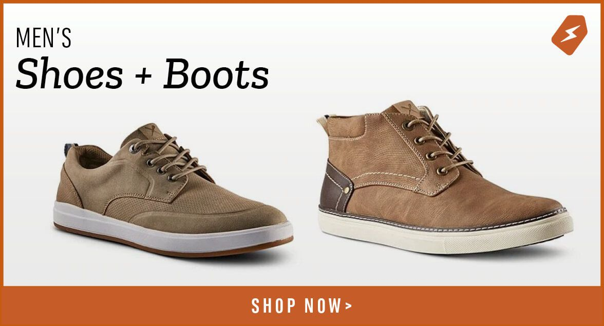 Men's Shoes and Boots. Shop Now.