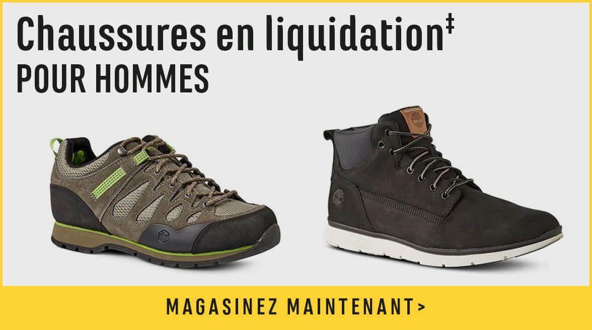 Chaussures en liquidation pour hommes - magasinez maintenant