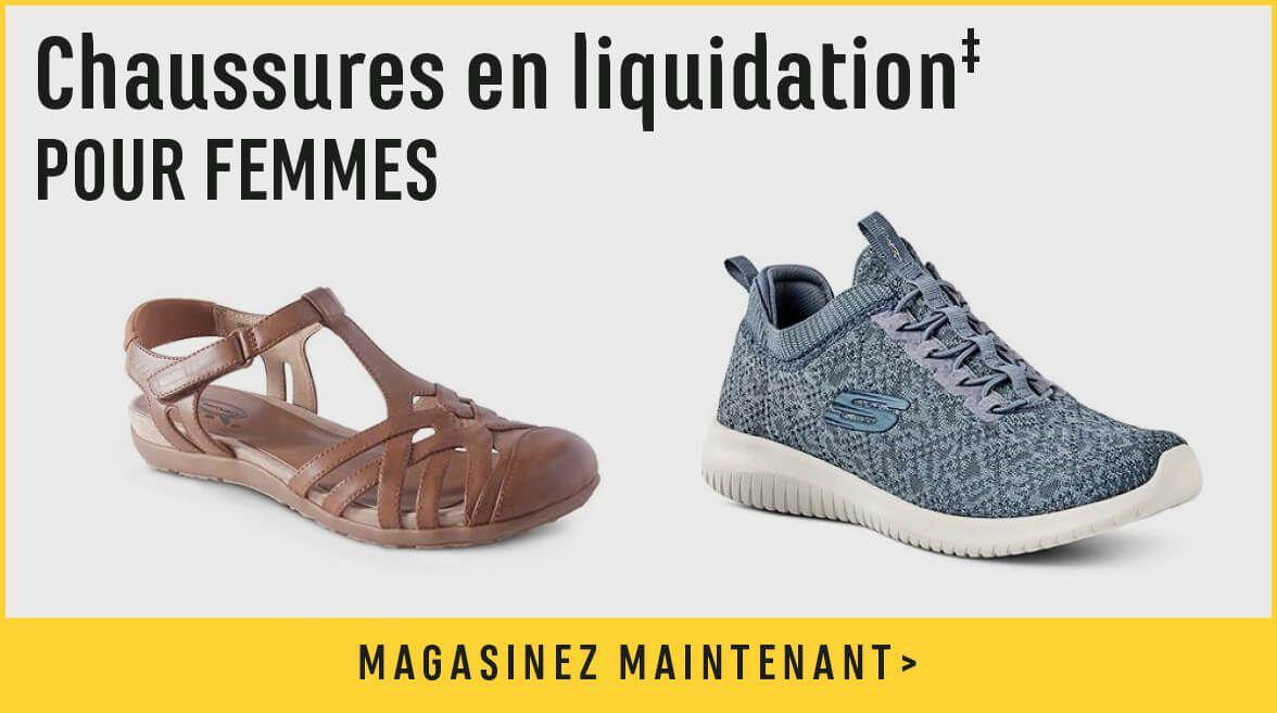 Chaussures en liquidation pour femmes - magasinez maintenant