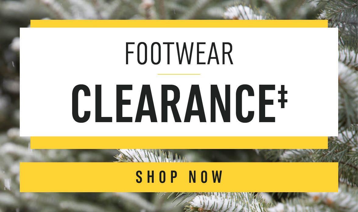 Shop Clearance Footwear