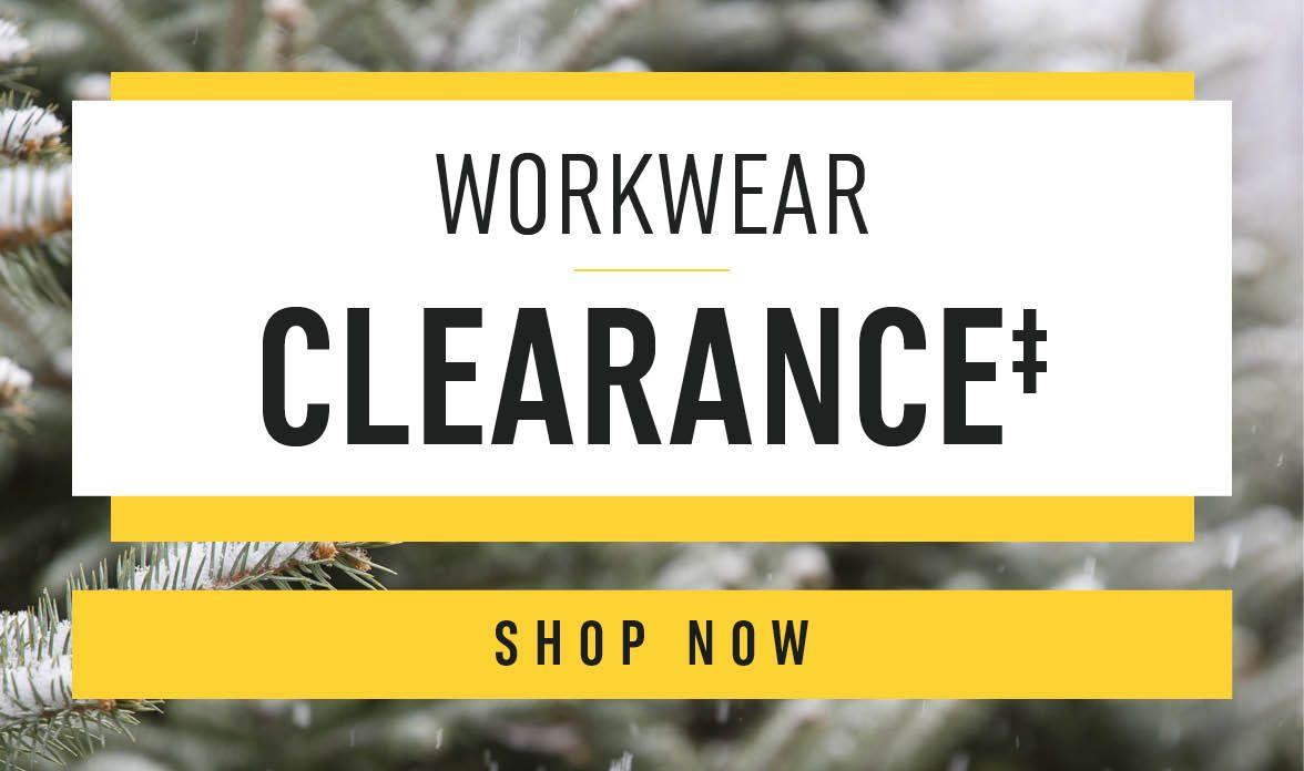 Shop Clearance Workwear