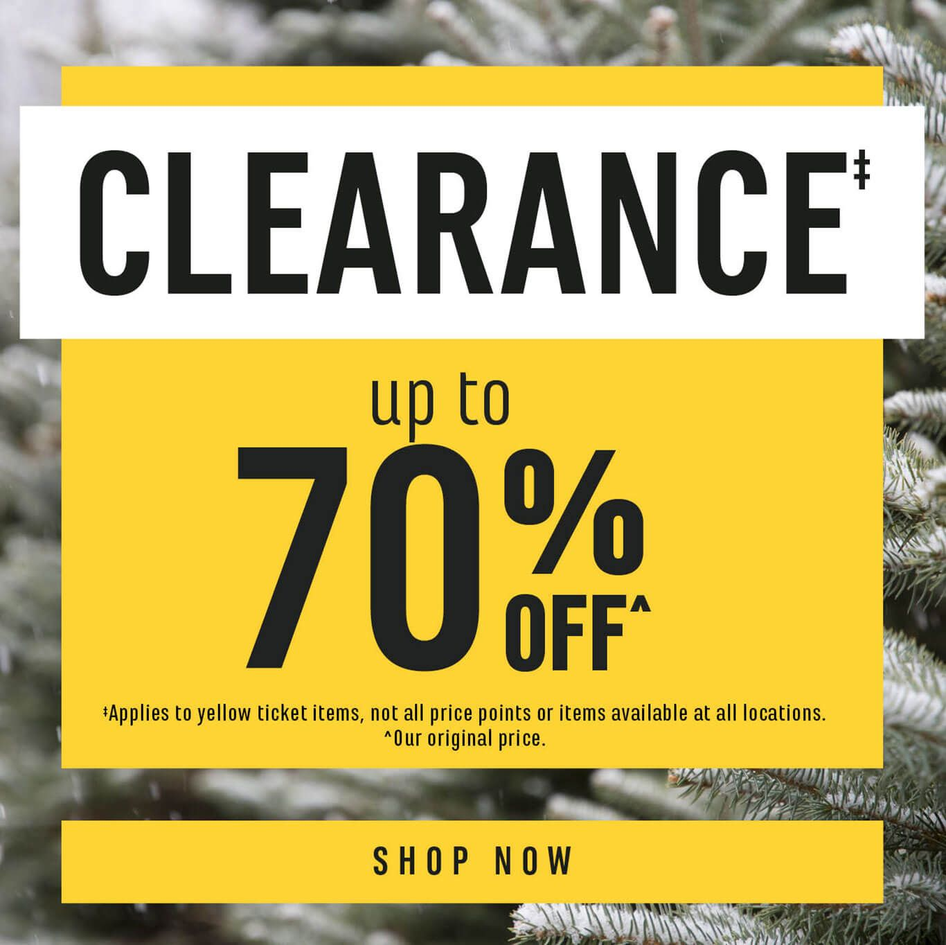 Shop All Clearance Items