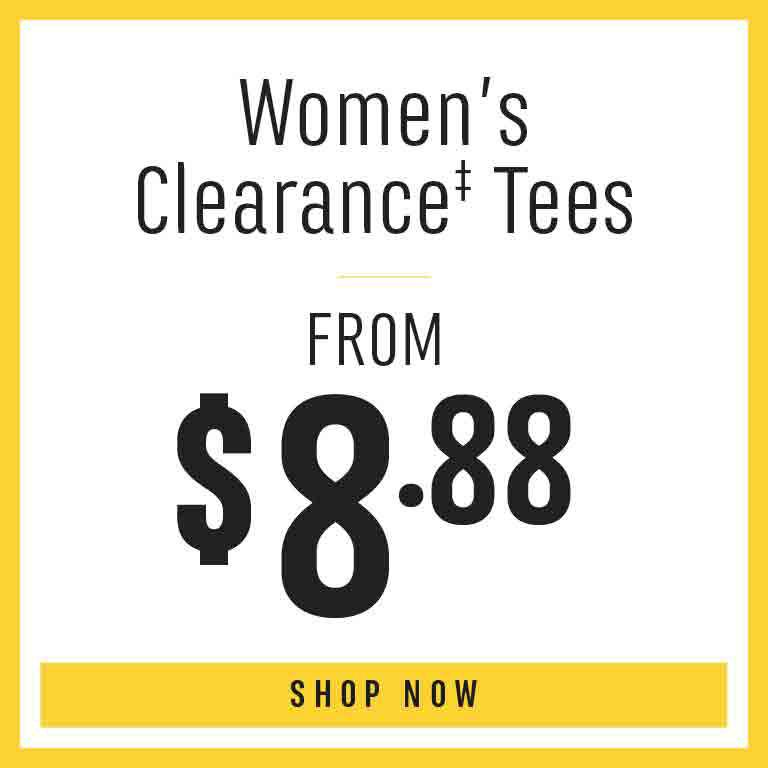 Shop Women's Clearance Tees