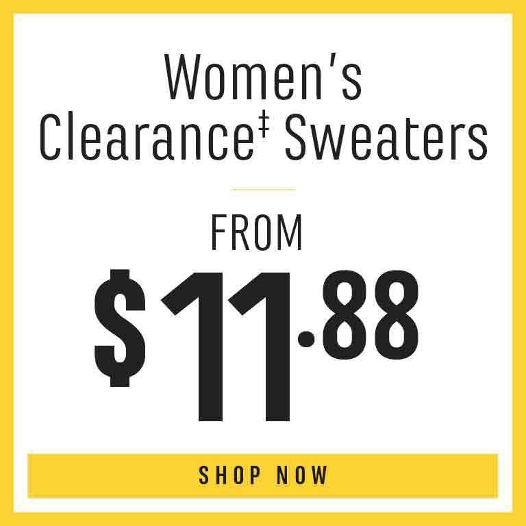 Shop Women's Clearance Sweaters