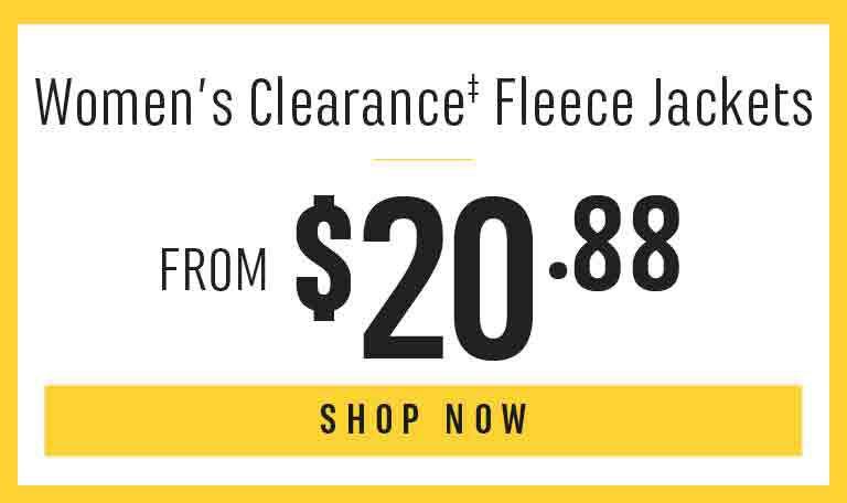 Women's Clearance Fleece Jackets