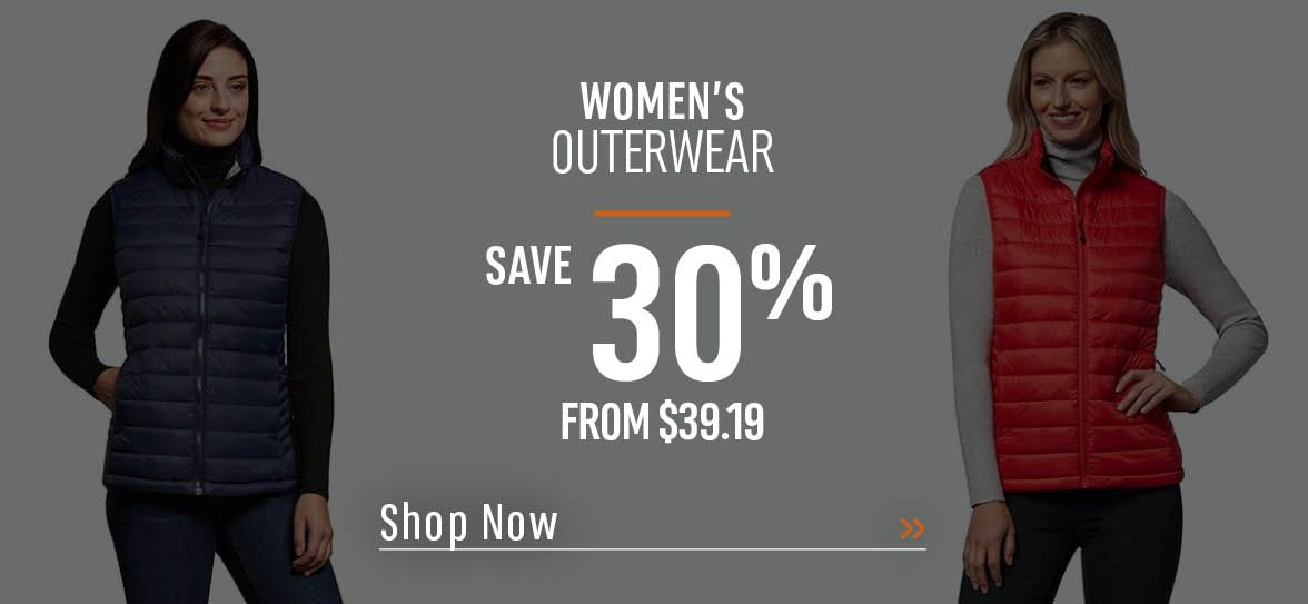 Women's Outerwear Save 30% - From $39.19 - Shop Now!