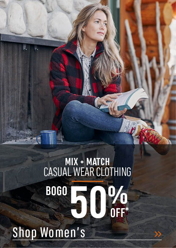 Women's Mix and Match Casual Wear Clothing, BOGO 50% Off. Shop Women's