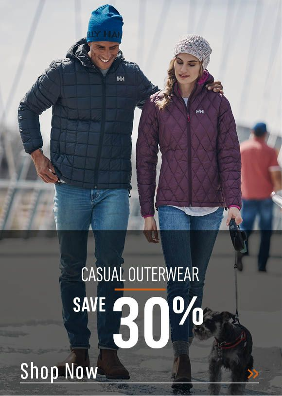 Casual Outerwear Save 30%. Shop Now.