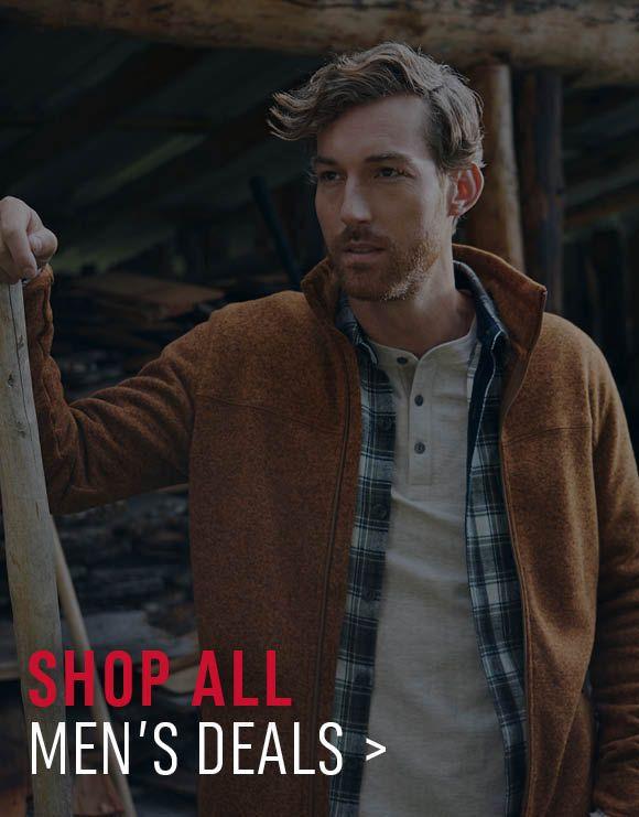 Shop All Men's Deals