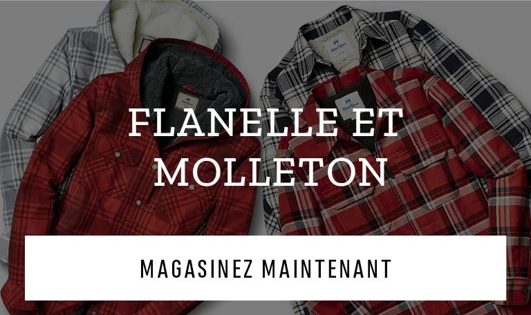 Flanelle et Molleton. Magasinez maintenant