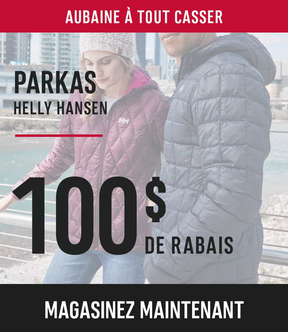 Helly Hansen Parkas save $100