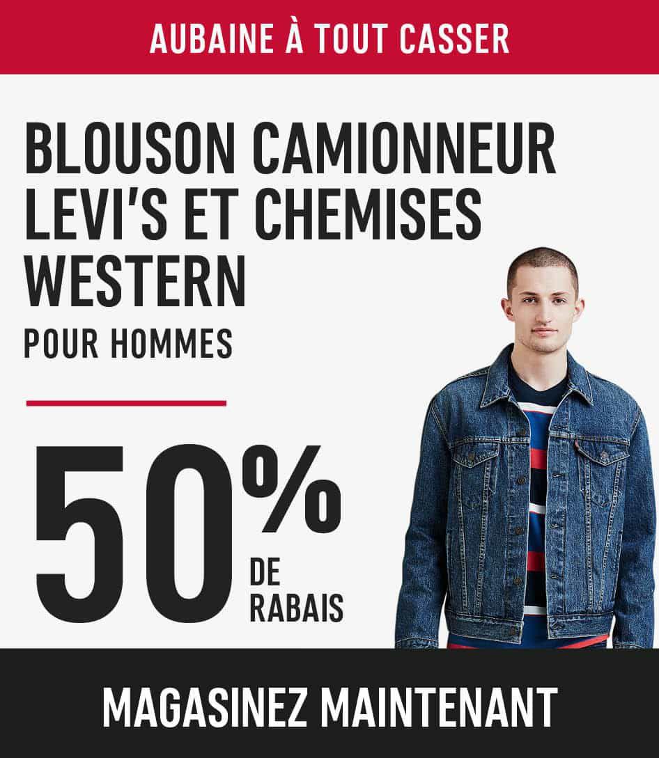 Western Levi's Trucker jackets & western shirts